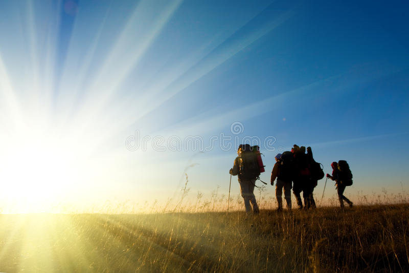 Escursione fotografia stock libera da diritti
