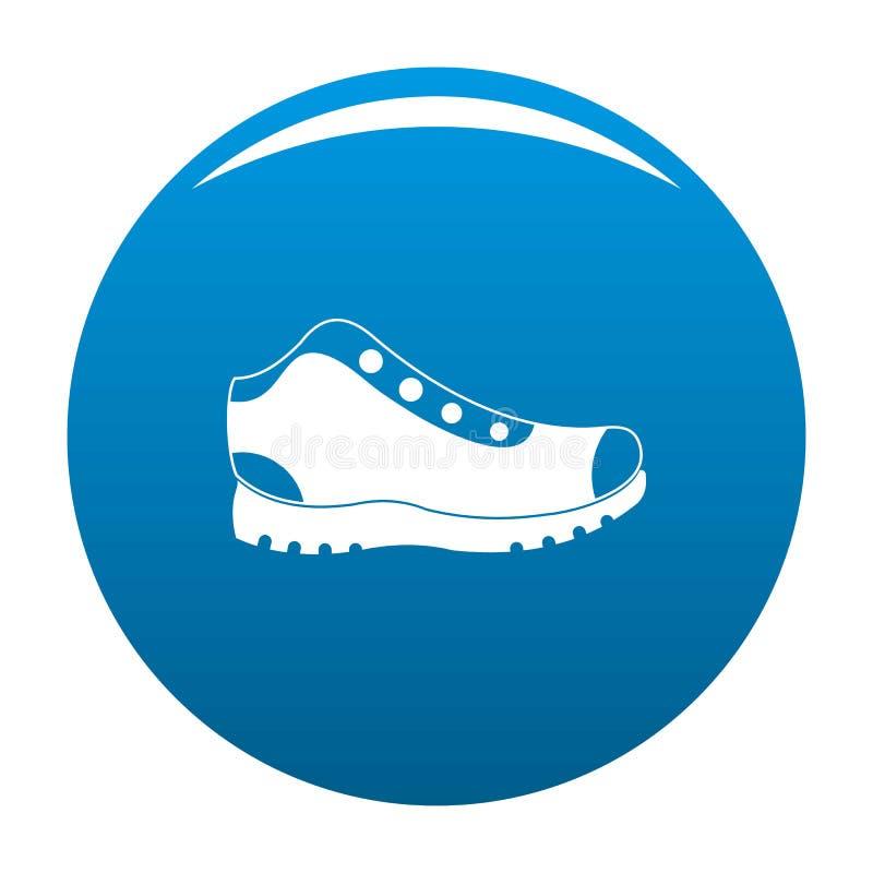 Escursione del blu dell'icona degli stivali royalty illustrazione gratis