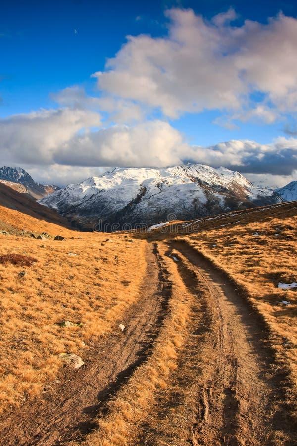 Escursione del percorso fotografie stock libere da diritti