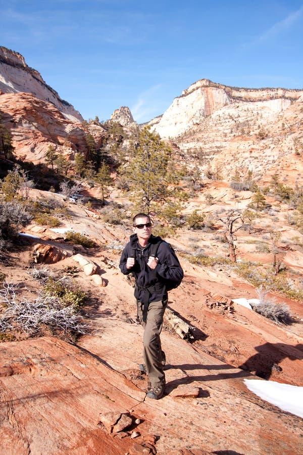 Escursione dell'Utah immagine stock libera da diritti