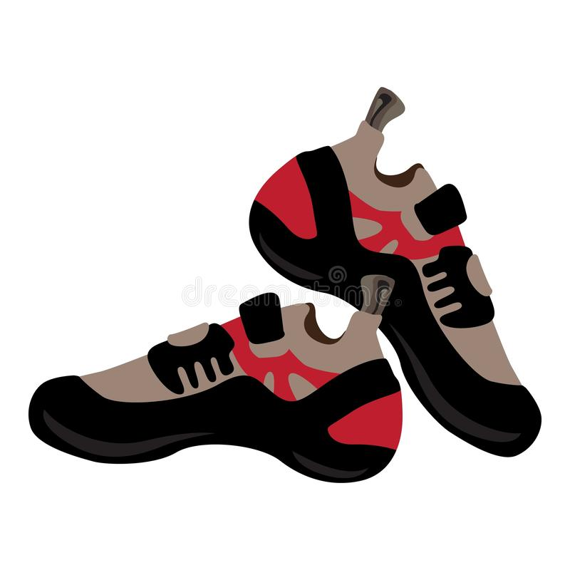 Escursione delle scarpe icona, stile del fumetto royalty illustrazione gratis