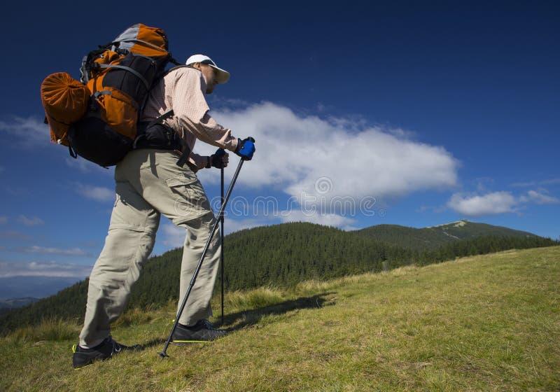 Escursione di estate fotografia stock libera da diritti