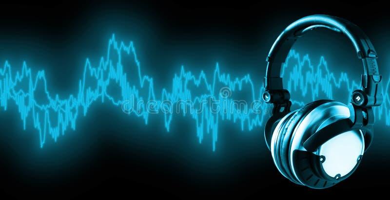 Escute a música (trajeto de +clipping, XXL) foto de stock royalty free