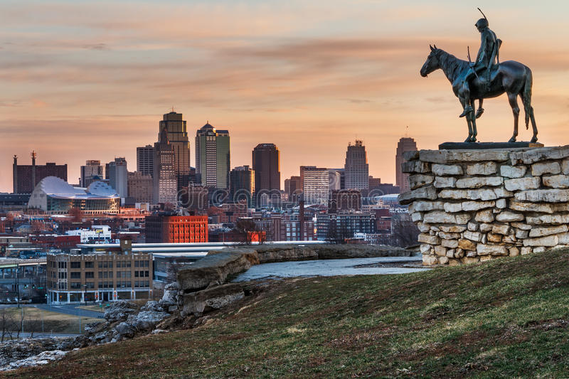 Escuteiro de Kansas City imagem de stock royalty free