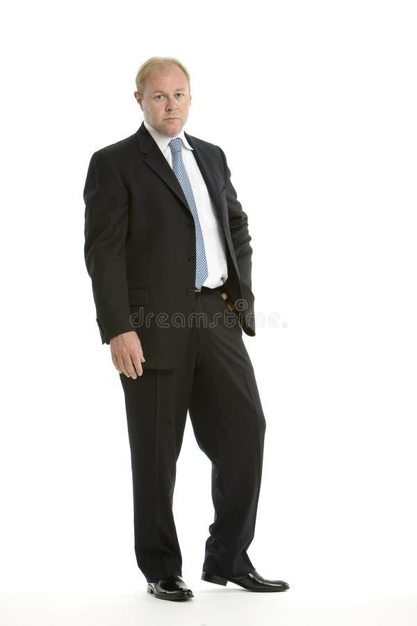 Esecutivo in un vestito di affari fotografia stock