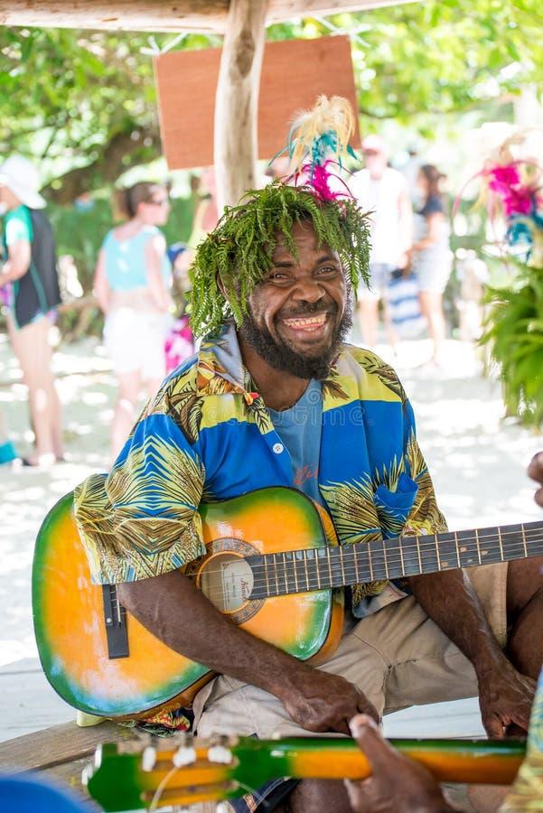 Esecutore del Vanuatu fotografia stock libera da diritti