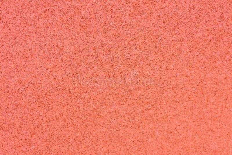 Eseguire struttura di gomma al suolo rossa della copertura della pista fotografia stock libera da diritti