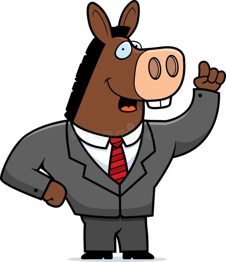 Esel-Klage lizenzfreie abbildung
