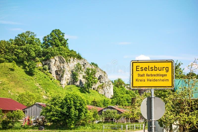 Eselsburg photographie stock