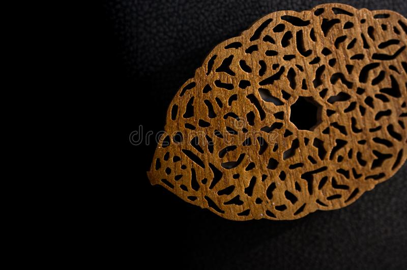 Esempio dei modelli di arte dell'ottomano in vista immagine stock