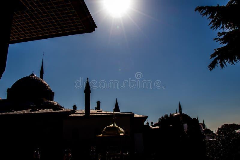 Esempio fine di architettura del turco dell'ottomano fotografia stock libera da diritti