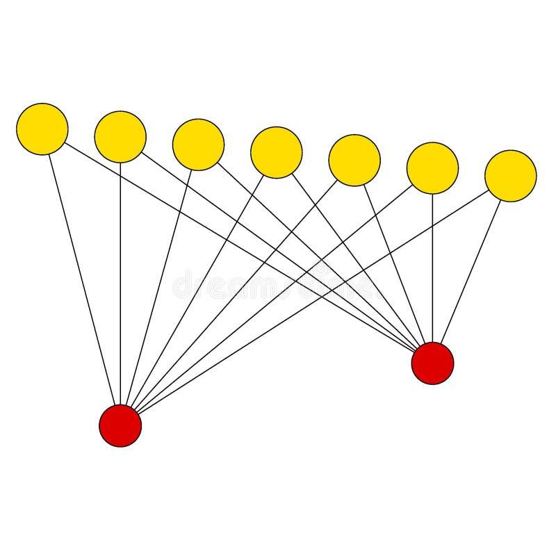 Esempio semplice del grafico royalty illustrazione gratis
