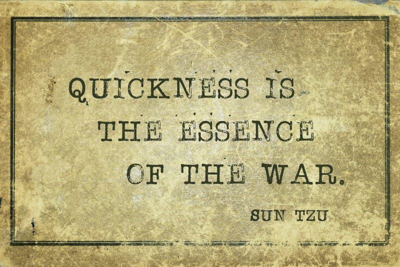 Esencia de la guerra Sun Tzu ilustración del vector