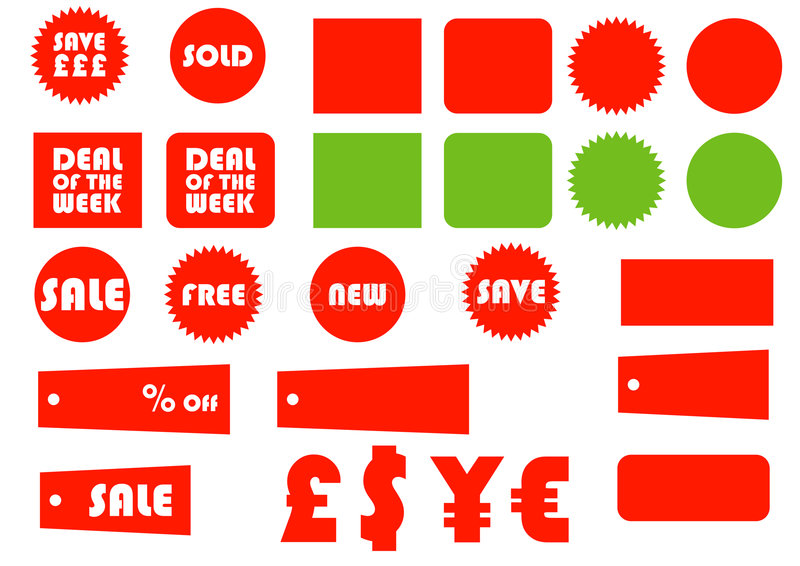 Esencial 1 del comercio electrónico ilustración del vector