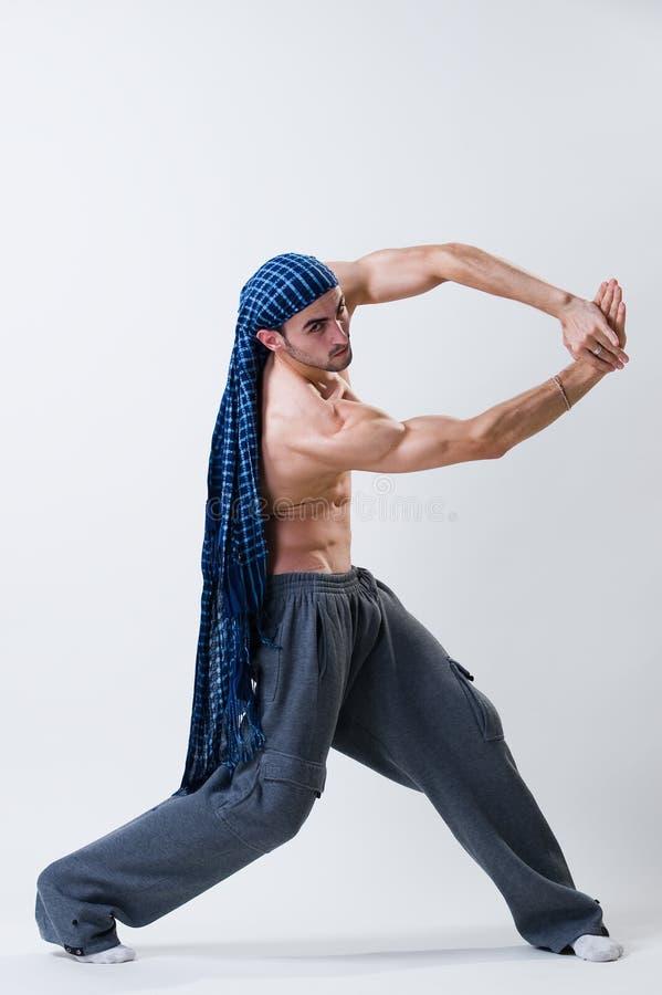 Esercitazione del danzatore fotografia stock libera da diritti
