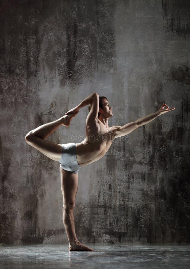 Esercitazione Yogic fotografia stock