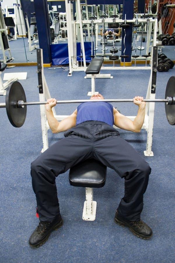 Esercitazioni di forma fisica, ginnastica fotografia stock