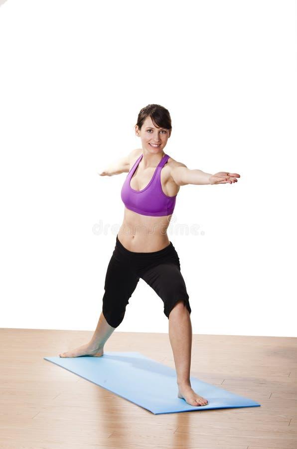 Esercitazioni di yoga immagini stock