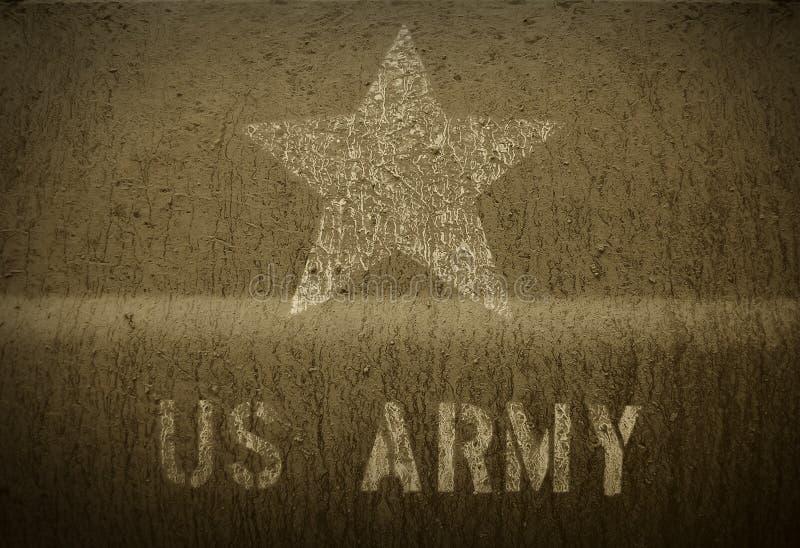 Esercito americano di fango fotografie stock