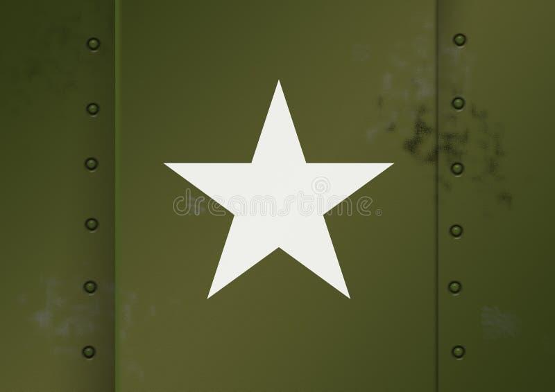Esercito americano WWII royalty illustrazione gratis
