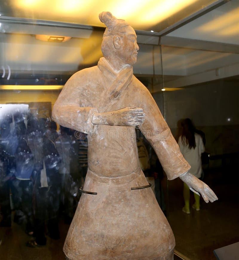 Esercito di terracotta di dinastia di Qin, Xian (Sian), Cina fotografia stock libera da diritti