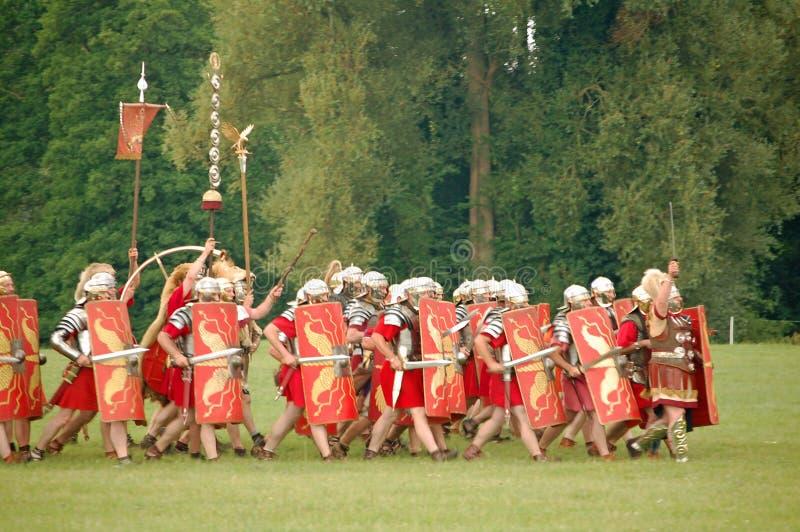 Esercito romano fotografie stock libere da diritti