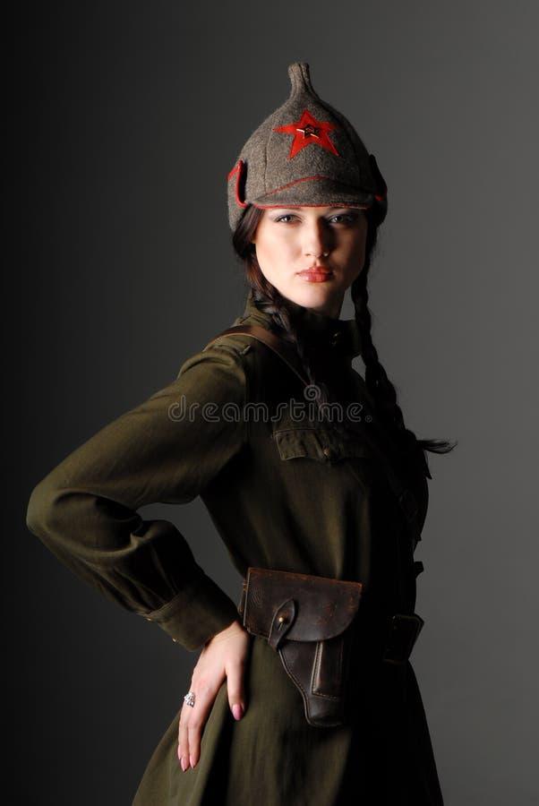 Esercito rosso fotografie stock