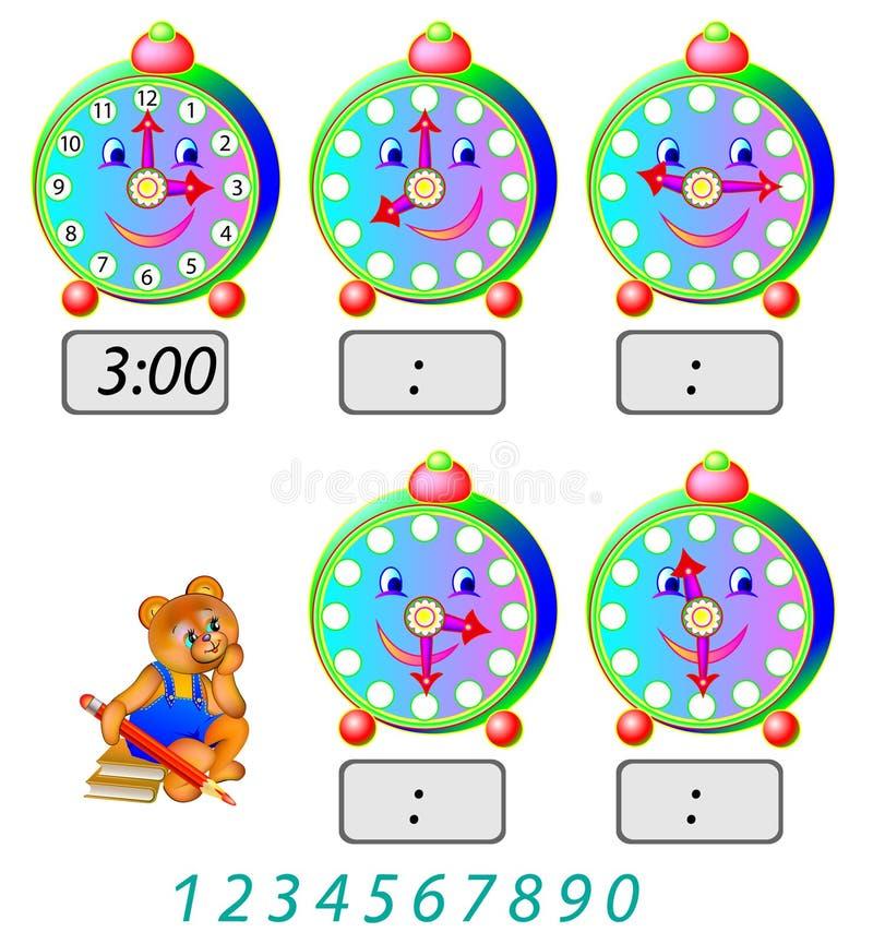Esercizi per i bambini necessit di scrivere i numeri - Colore per numeri per i bambini ...