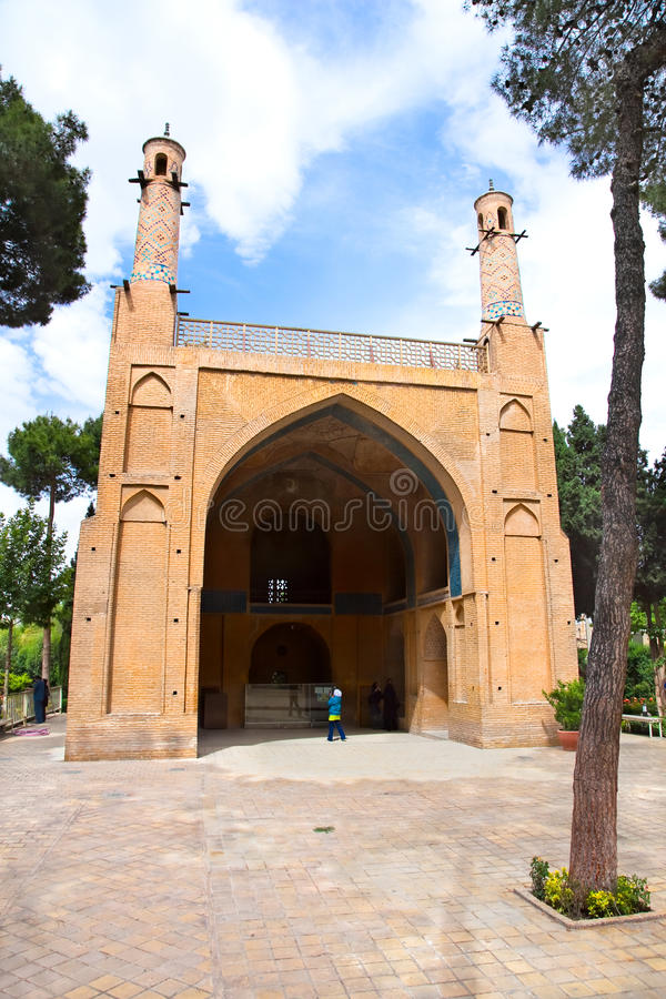 esfahan jonban monar μουσουλμανικό τέμενος του Ιράν στοκ εικόνα