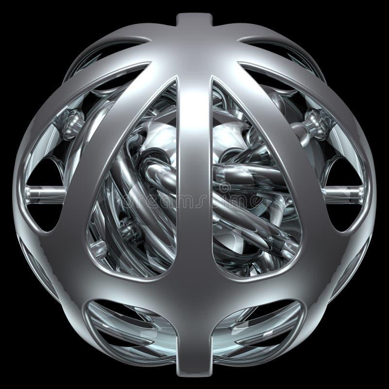 Esfera abstracta 005 foto de archivo