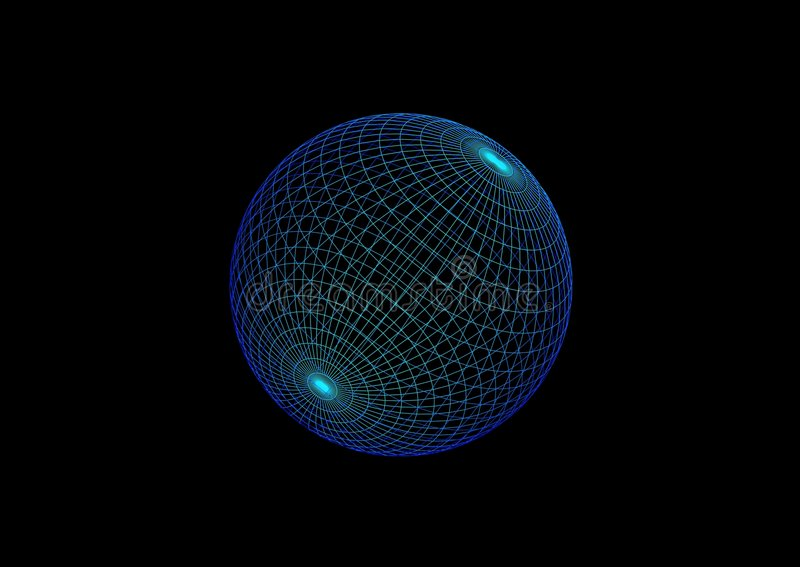 Esfera altísima stock de ilustración
