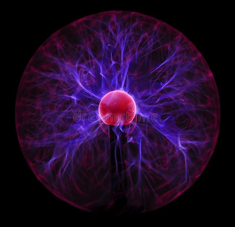 Esfera clara do plasma fotos de stock