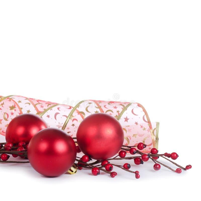 A esfera da árvore de Natal imagem de stock