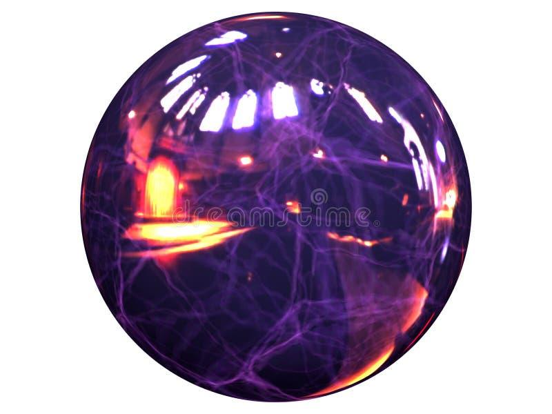 Esfera da energia ilustração stock