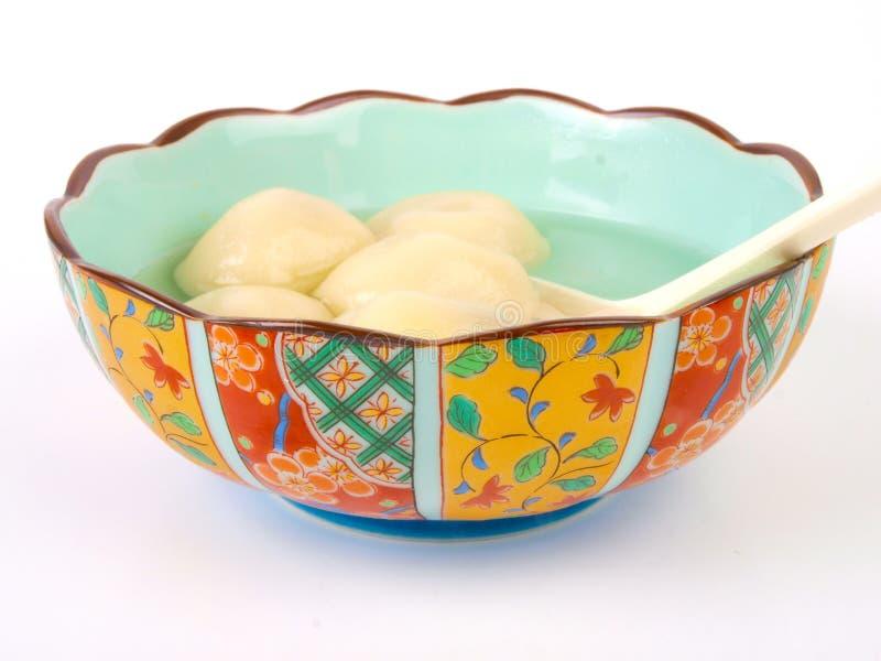 Download Esfera De Arroz Chinesa De Glutenous Foto de Stock - Imagem de tradicional, japonês: 12812888