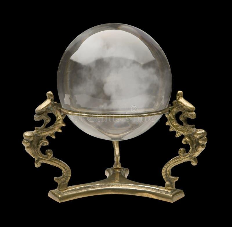 Esfera de cristal fotos de stock royalty free