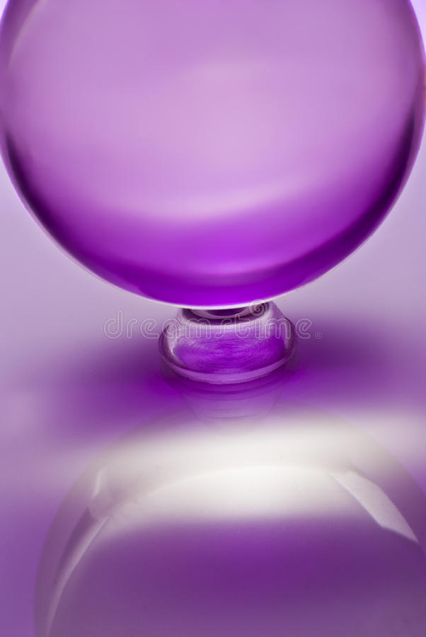 Esfera de Cristal foto de archivo