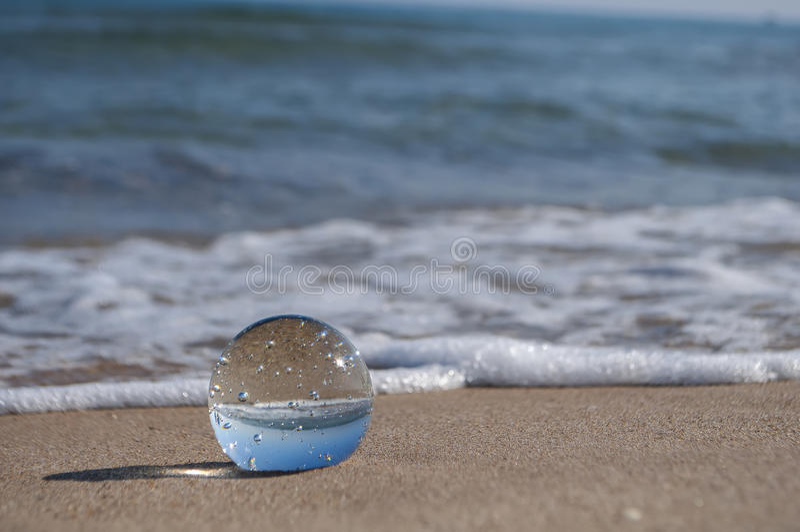 Esfera de Cystal foto de stock