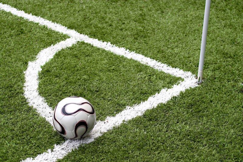 Esfera de futebol fotografia de stock