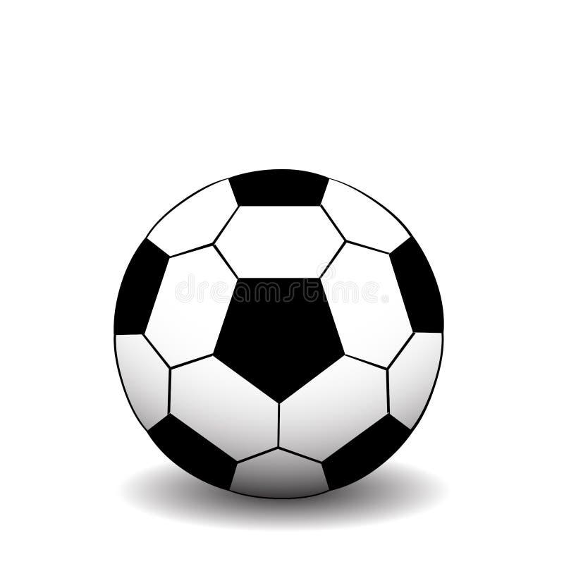 Esfera de futebol ilustração royalty free