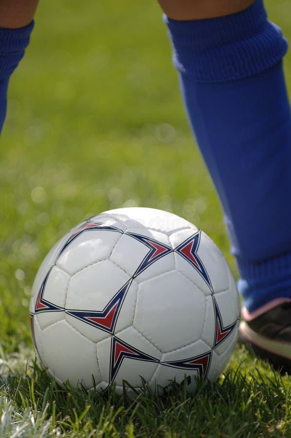 Esfera De Futebol E Jogador De Futebol 4 Imagem de Stock Royalty Free