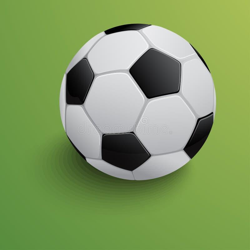 Esfera de futebol Ilustração do vetor ilustração do vetor