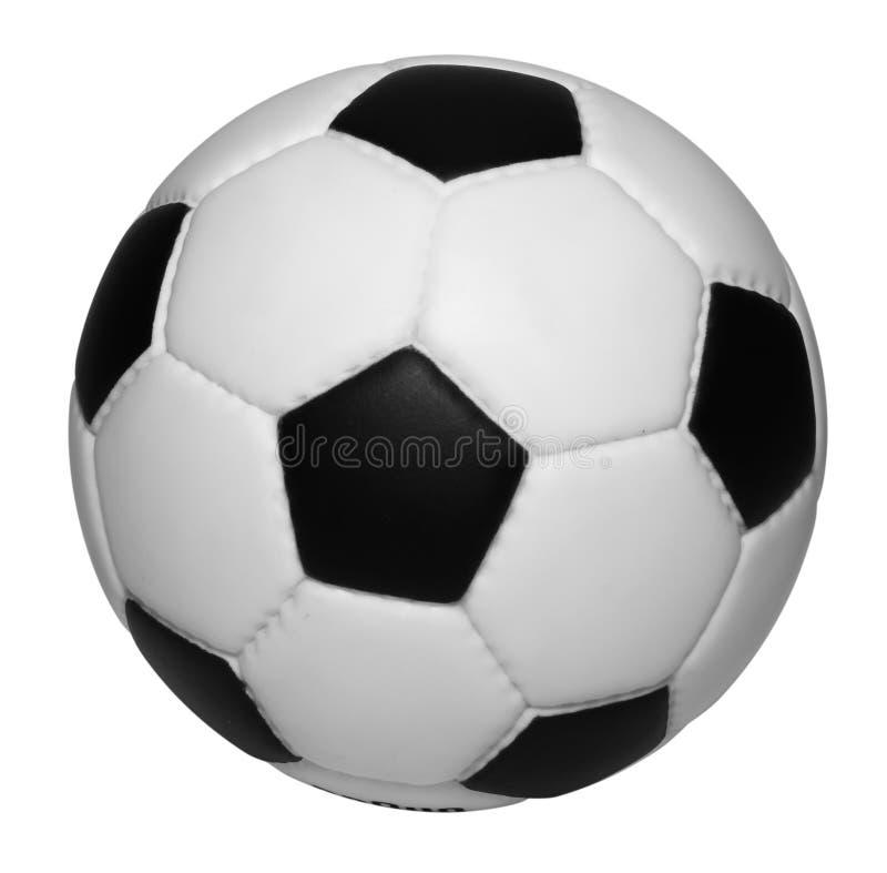 Esfera de futebol isolada imagem de stock royalty free