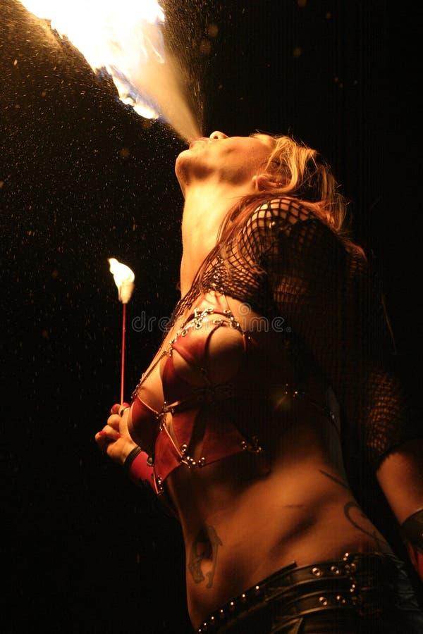 Esfera de incêndio 1 imagem de stock royalty free