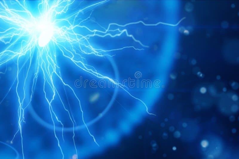 Esfera de la iluminación de la energía eléctrica libre illustration