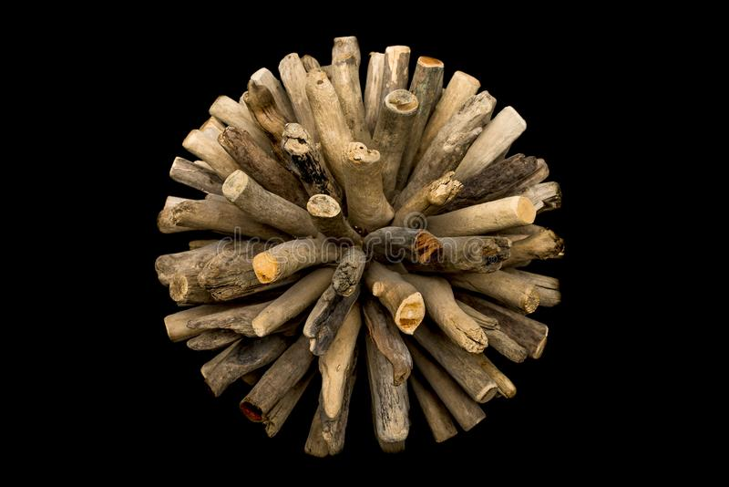 | Esfera de madeira imagem de stock