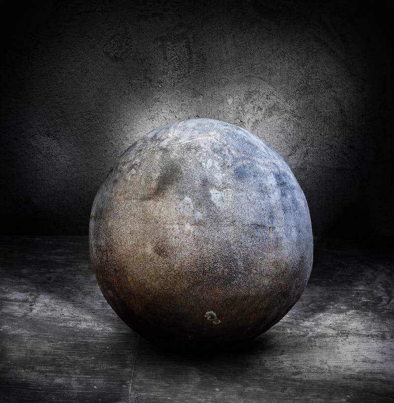 Esfera de piedra fotos de archivo