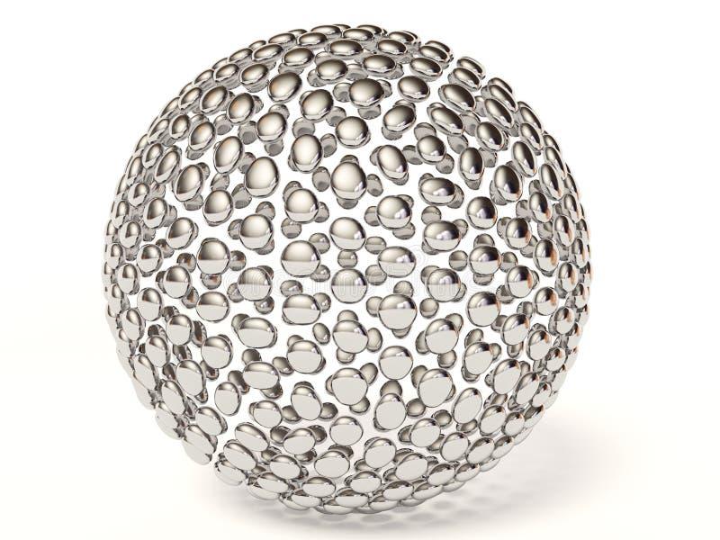 Esfera de plata libre illustration