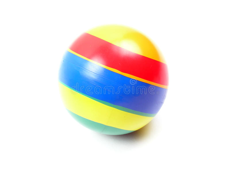 Esfera de praia foto de stock