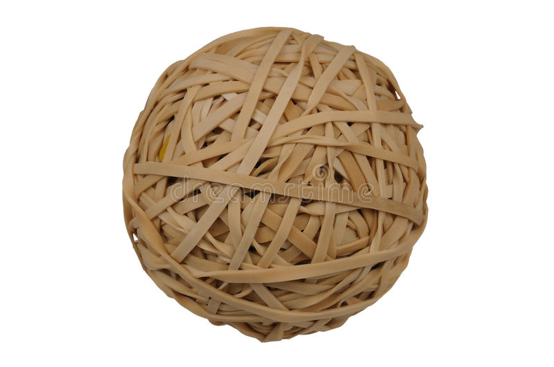 Esfera de Rubberband foto de stock royalty free